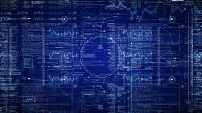 Ανοιχτήρι του Sci Fi Κινήσεις καμερών μέσω της διεπαφής HUD
