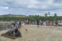 Ανοιχτή περιοχή στο φρούριο του Λα Fuersa Στοκ Εικόνες