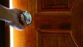 Ανοιχτή πόρτα για να αρχίσει την έννοια φιλμ μικρού μήκους