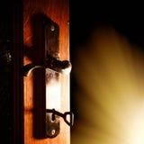 Ανοιχτή πόρτα Στοκ Φωτογραφία