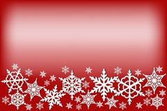ανοιχτό μαγικό κόκκινο Χριστουγέννων ανασκόπησης Στοκ Φωτογραφία