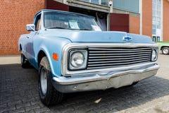 Ανοιχτό φορτηγό Chevrolet γ-10 φυσικού μεγέθους Fleetside, 1969 Στοκ Εικόνες