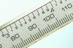 Ανοξείδωτο Steelconsult για τις ακριβείς μετρήσεις Στοκ Εικόνες
