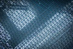 Ανοξείδωτο καθαρό μπλε architexture Στοκ εικόνες με δικαίωμα ελεύθερης χρήσης