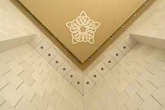 Εσωτερικό μουσουλμανικών τεμενών Στοκ εικόνα με δικαίωμα ελεύθερης χρήσης