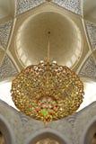 Εσωτερικό μουσουλμανικών τεμενών Στοκ εικόνες με δικαίωμα ελεύθερης χρήσης