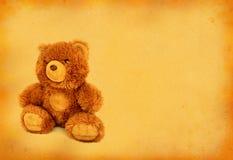 αντέξτε αναδρομικό teddy στοκ φωτογραφία