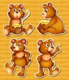 Αντέξτε και μέλι Στοκ εικόνες με δικαίωμα ελεύθερης χρήσης