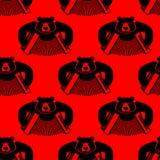Αντέξτε με το άνευ ραφής σχέδιο ακκορντέον Άγριο κτήνος και μουσικό INS ελεύθερη απεικόνιση δικαιώματος