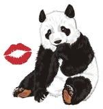 Αντέξτε με το φιλί Στοκ φωτογραφία με δικαίωμα ελεύθερης χρήσης