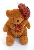 αντέξτε σκωτσέζικο teddy στοκ εικόνα
