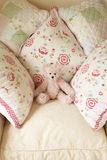 αντέξτε τα μαξιλάρια εδρών teddy Στοκ φωτογραφίες με δικαίωμα ελεύθερης χρήσης