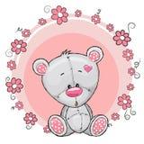 αντέξτε τα λουλούδια teddy απεικόνιση αποθεμάτων