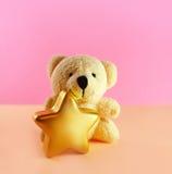 αντέξτε τα Χριστούγεννα teddy στοκ εικόνες