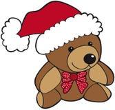 αντέξτε τα teddy Χριστούγεννα ελεύθερη απεικόνιση δικαιώματος