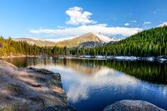 Αντέξτε τη λίμνη Δύσκολο εθνικό πάρκο Κολοράντο βουνών Στοκ Εικόνες
