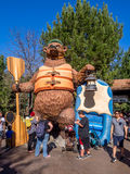Αντέξτε το άγαλμα στο πάρκο περιπέτειας της Disney Καλιφόρνια Στοκ Φωτογραφίες
