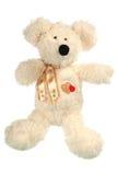 αντέξτε το απομονωμένο teddy λ&e Στοκ Φωτογραφίες