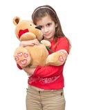 αντέξτε το κορίτσι που αγ& Στοκ εικόνα με δικαίωμα ελεύθερης χρήσης
