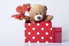 Αντέξτε το παιχνίδι και τα δώρα Στοκ φωτογραφίες με δικαίωμα ελεύθερης χρήσης