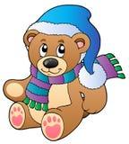 αντέξτε το χαριτωμένο teddy χει ελεύθερη απεικόνιση δικαιώματος