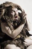 αντέξτε το caveman δέρμα Στοκ Φωτογραφία