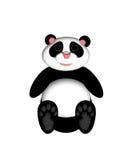 αντέξτε το panda απεικόνισης Στοκ φωτογραφία με δικαίωμα ελεύθερης χρήσης