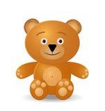αντέξτε το teddy παιχνίδι διανυσματική απεικόνιση