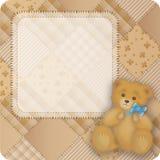 αντέξτε το teddy τρύγο διανυσματική απεικόνιση