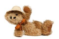 αντέξτε holliday teddy Στοκ εικόνες με δικαίωμα ελεύθερης χρήσης