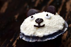 Αντέξτε muffin Στοκ Εικόνα