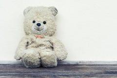 αντέχει παλαιό teddy Στοκ Φωτογραφίες