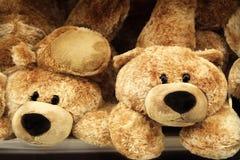 αντέχει τα teddy παιχνίδια Στοκ φωτογραφία με δικαίωμα ελεύθερης χρήσης