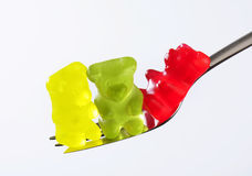 αντέχει gummy Στοκ Εικόνες