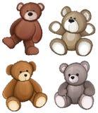αντέχει teddy διανυσματική απεικόνιση