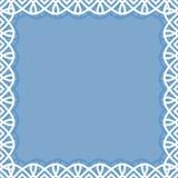 δαντέλλα πλαισίων Στοκ φωτογραφία με δικαίωμα ελεύθερης χρήσης