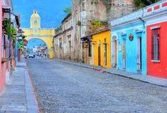 Αντίγουα Γουατεμάλα Στοκ φωτογραφίες με δικαίωμα ελεύθερης χρήσης