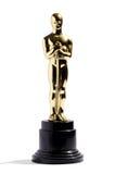 Αντίγραφο ενός βραβείου του Oscar Στοκ εικόνα με δικαίωμα ελεύθερης χρήσης