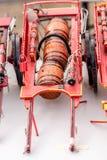 Αντίγραφο του παλαιού κόκκινου βαγονιού εμπορευμάτων Στοκ εικόνες με δικαίωμα ελεύθερης χρήσης