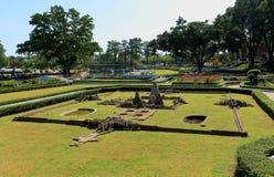 Αντίγραφο Prasat Hin Phimai στο μικροσκοπικό πάρκο Pattaya στοκ φωτογραφία
