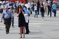 αντίθεση prospec Ρωσία συνεδρίασης της ημέρας στοκ εικόνα