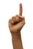 αντίθετα χέρια ένα Στοκ εικόνα με δικαίωμα ελεύθερης χρήσης