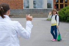 Αντίο μαμά Στοκ φωτογραφίες με δικαίωμα ελεύθερης χρήσης