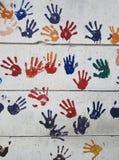 αντίο πέντε δάχτυλα στοκ φωτογραφία με δικαίωμα ελεύθερης χρήσης