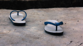 Αντίο, πλευρές παπουτσιών που αντιμετωπίζει κάθε ενός από το χωρισμό του τρόπου Στοκ Φωτογραφία
