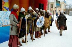 Αντίο στο χειμώνα Καρναβάλι Στοκ Εικόνα