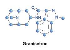Αντίπαλος δεκτών σεροτονίνης Granisetron διανυσματική απεικόνιση