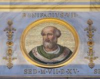 Αντίπαπας Boniface VII Στοκ Φωτογραφίες