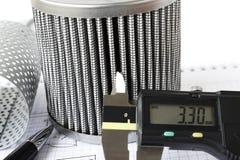 Αντίστροφη εφαρμοσμένη μηχανική για το φίλτρο καυσίμων στοκ φωτογραφία με δικαίωμα ελεύθερης χρήσης