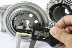 Αντίστροφη εφαρμοσμένη μηχανική για το φίλτρο καυσίμων Στοκ Εικόνες